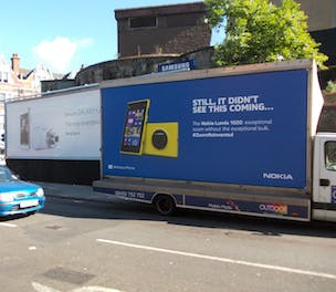 Nokia Lumia 1020 Samsung ambush campaign