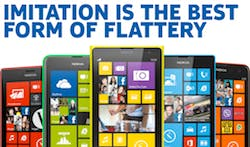 Nokia Imitation is the best form of flattery