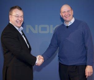 Nokia Microsoft Elop Ballmer