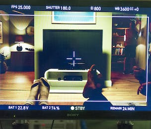 YouView ad behind the scenes