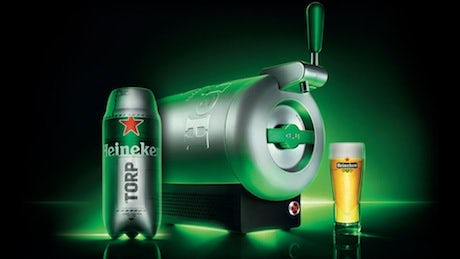 Heineken Unveils Product To Bring The Perfect Draught Beer To Living Rooms Marketing Week