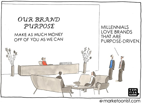 Tom Fishburne - The Marketoonist 30/10/2013 – Marketing Week