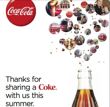 Coke Thank You Share A Coke