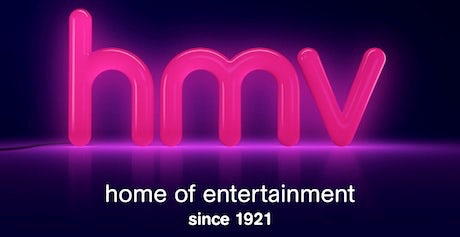 Hmv Bids To Revive Brand With New Logo And Marketing Push
