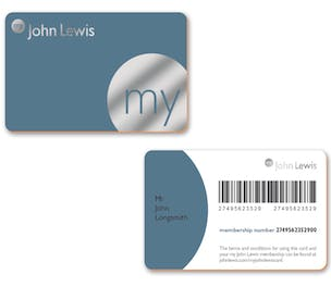 My John Lewis Card