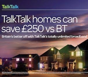 TalkTalk v BT ad