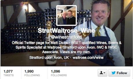 Waitrose wine expert