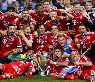 Bayern Champions League winners
