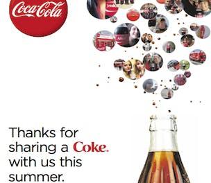 Thank You Share a Coke
