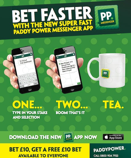 paddy power mobile text betting