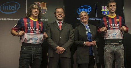 362dcbe1b FC Barcelona sign £15m sponsorship deal with Intel – Marketing Week