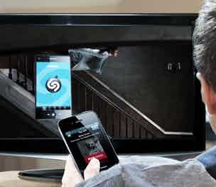 Shazam for connected TV