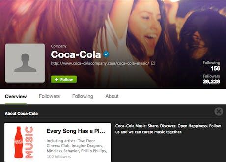 Spotify Coke