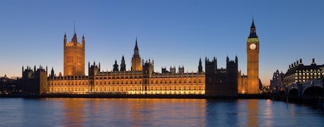 Westminster palace of night