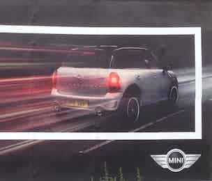 BMW mini ad