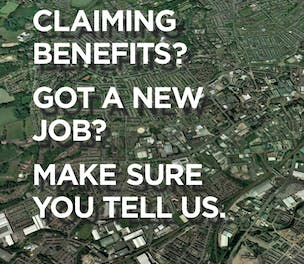 DWP Benefit Fraud ad