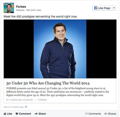 Facebook Forbes