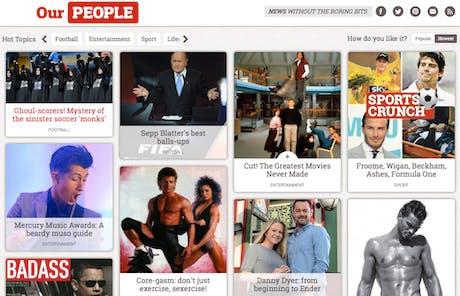 The People website