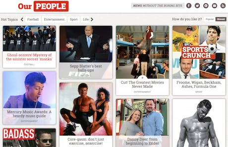 The People website