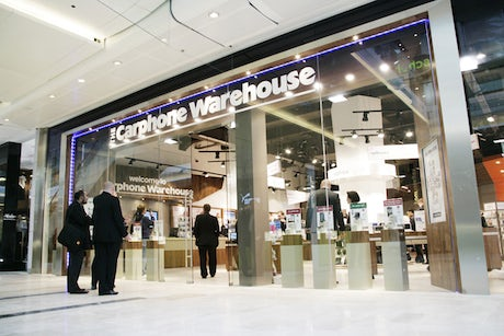 Carphone Warehouse store