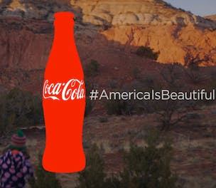 Coke Superbowl ad