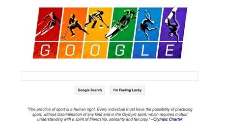 Google Doodle Sochi