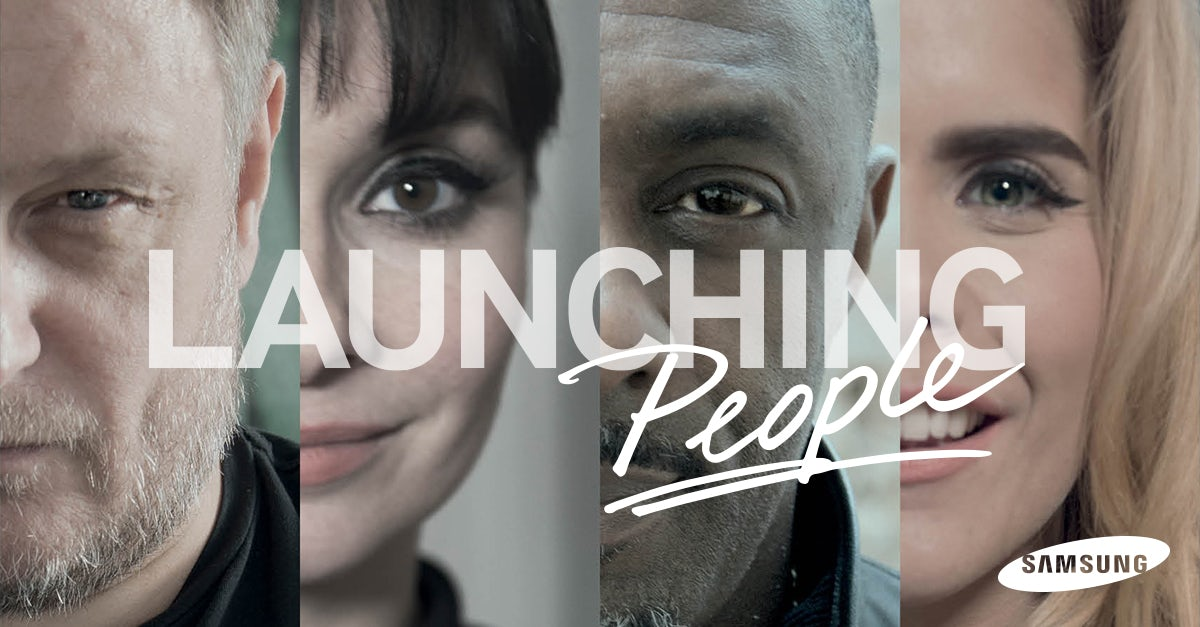 Samsung Launching People