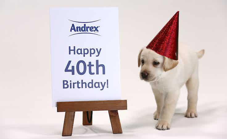 Andrex 40 years