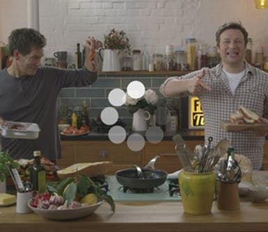 Jamie Oliver Kevin Bacon EE 385