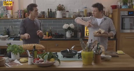 Jamie Oliver Kevin Bacon EE 460