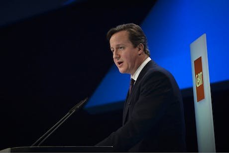 Cebit David Cameron