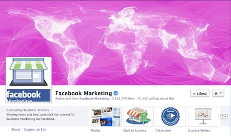 Facebook Marketing Page