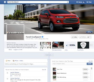Ford EcoSport Facebook