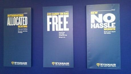 Ryanair Press ads