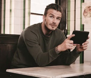 David Beckham in Sky Sports ad