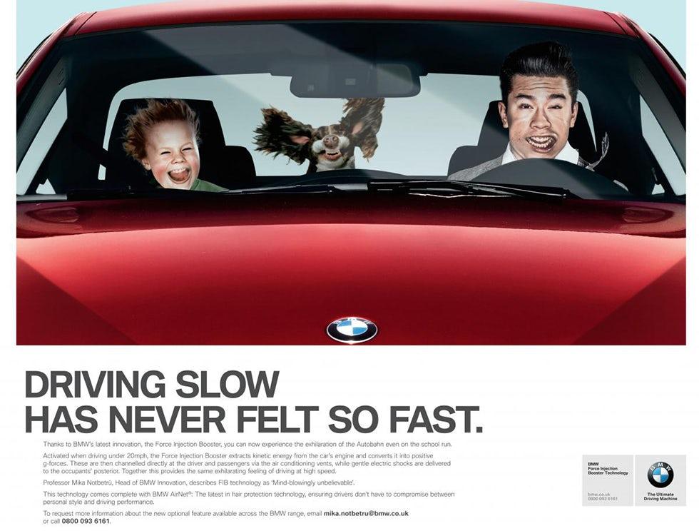 BMW April fool