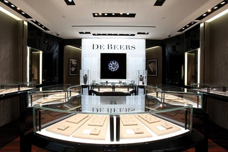 De Beers luxury