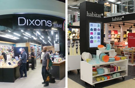 Dixons and Habitat store design