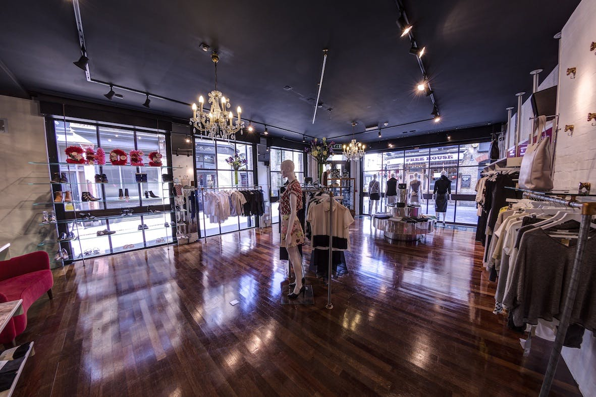 Online shoppers can take a virtual tour around Start London's store