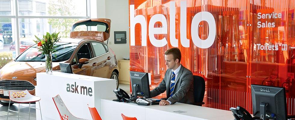 Ford sales desk