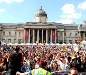Barclays Gay Pride festival