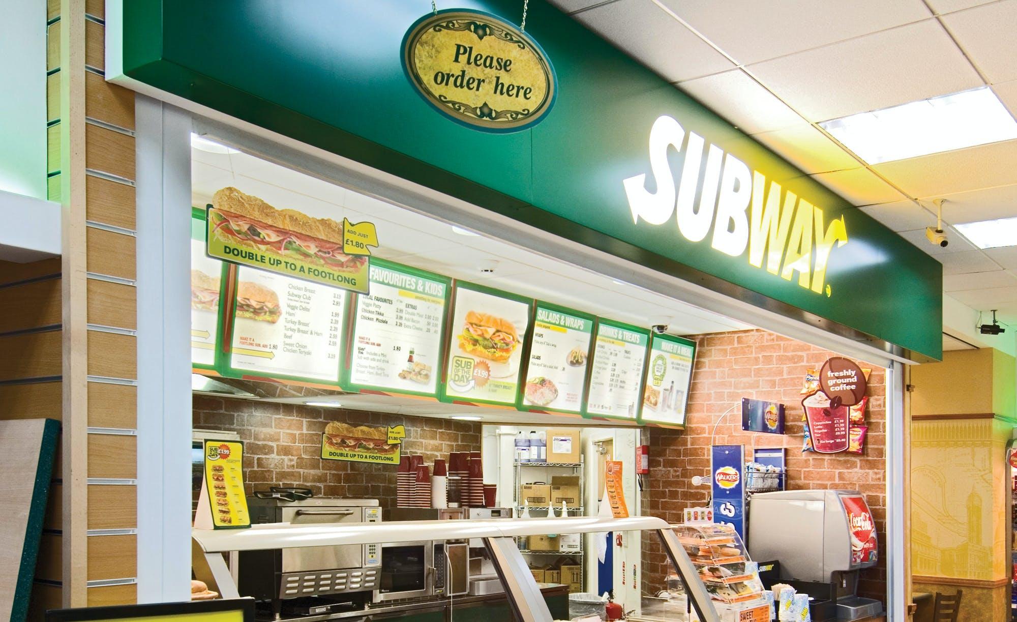 Subway loyalty scheme