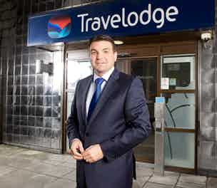 Peter Gowers Travelodge outside