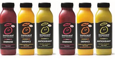 Innocent super smoothie range