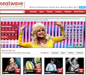 Seatwave site