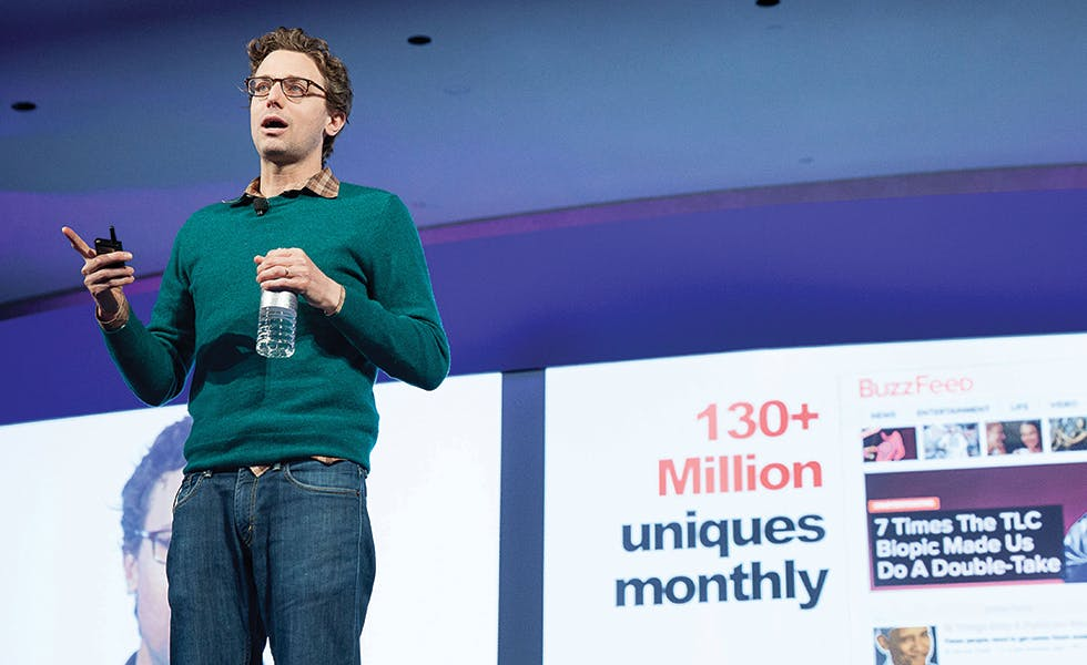 Peretti believes that people are likely to share content when it allows them to express their identity