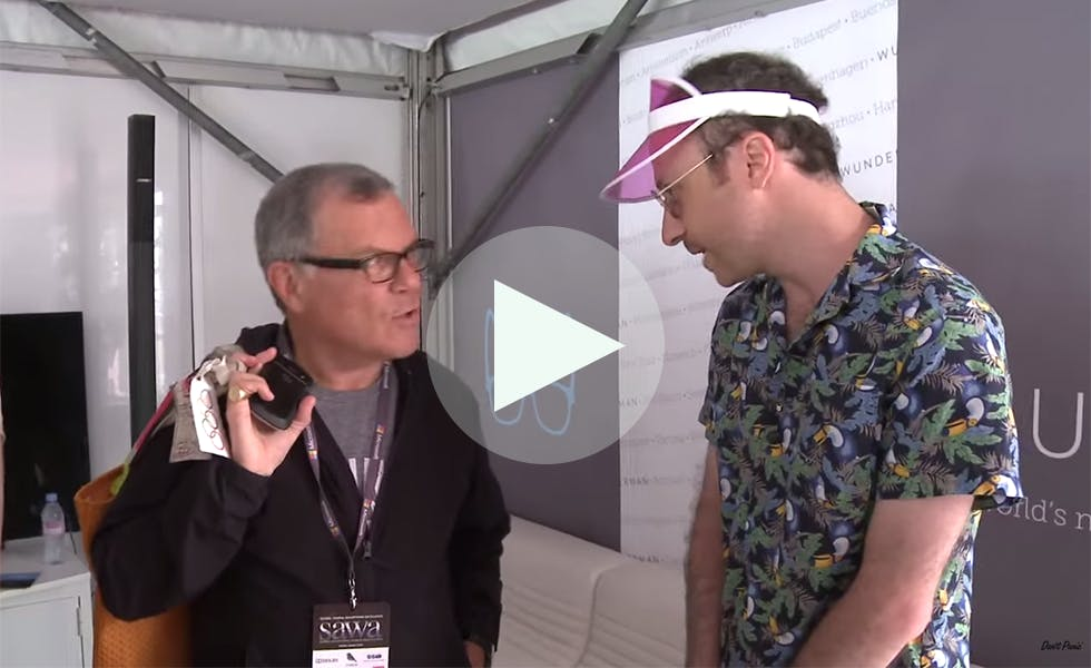 Cannes Mockumentary video overlay