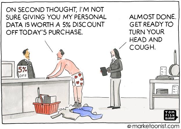 Cartoon Personal Data