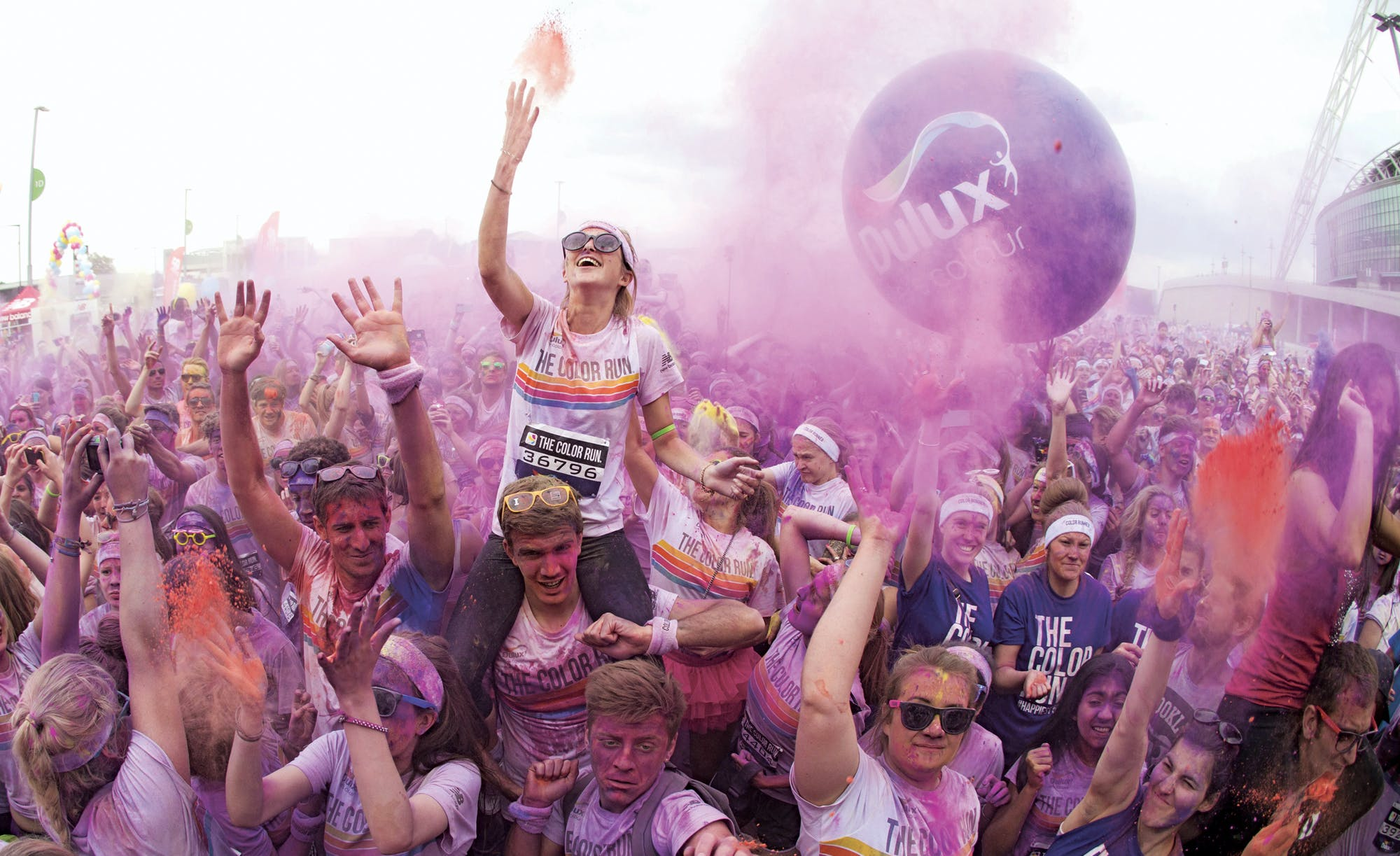 Dulux colour run