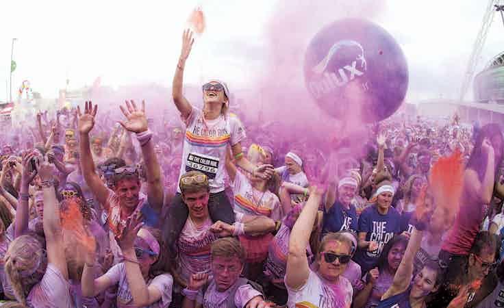 Dulux colour run